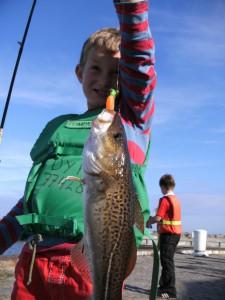 Den er vist stor nok til at jeg ikke behøver at lave en lystfisker historie :)